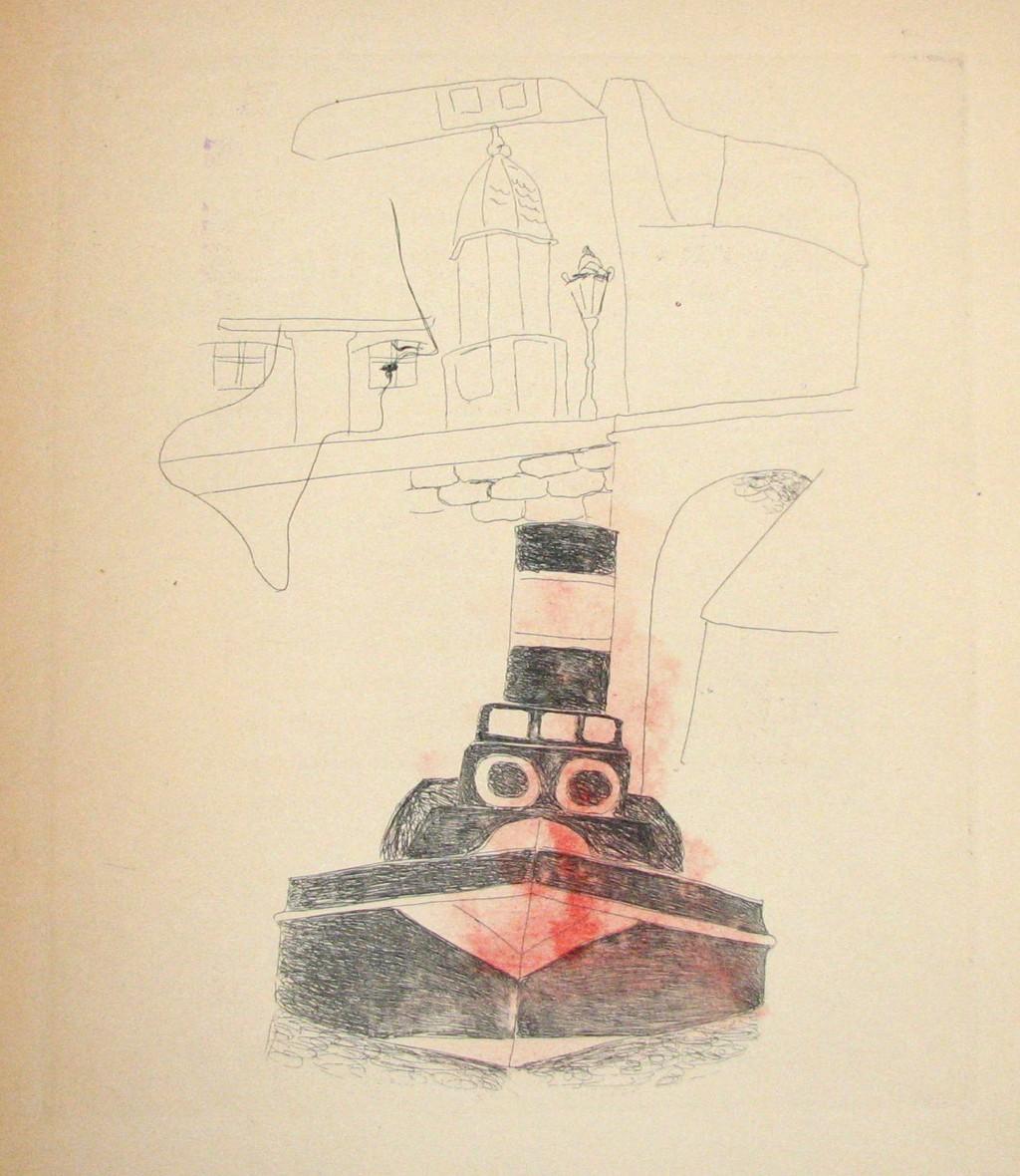 Šíma Josef (1891 - 1971) : Paříž Josefa Šímy