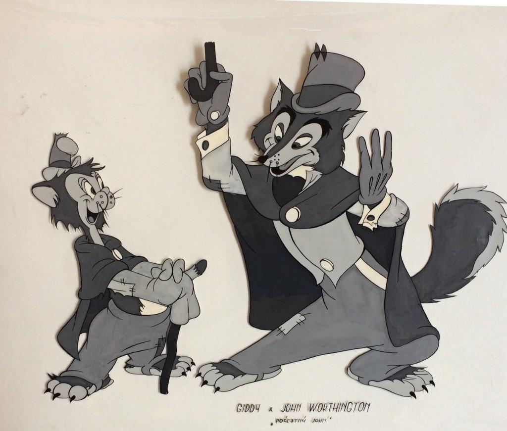 Disney Walt (1901 - 1966) : Gidy a John