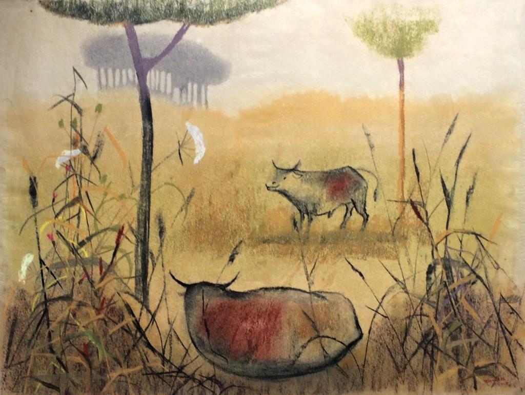 Janeček Ota (1919 - 1996) : Vojšické lúky