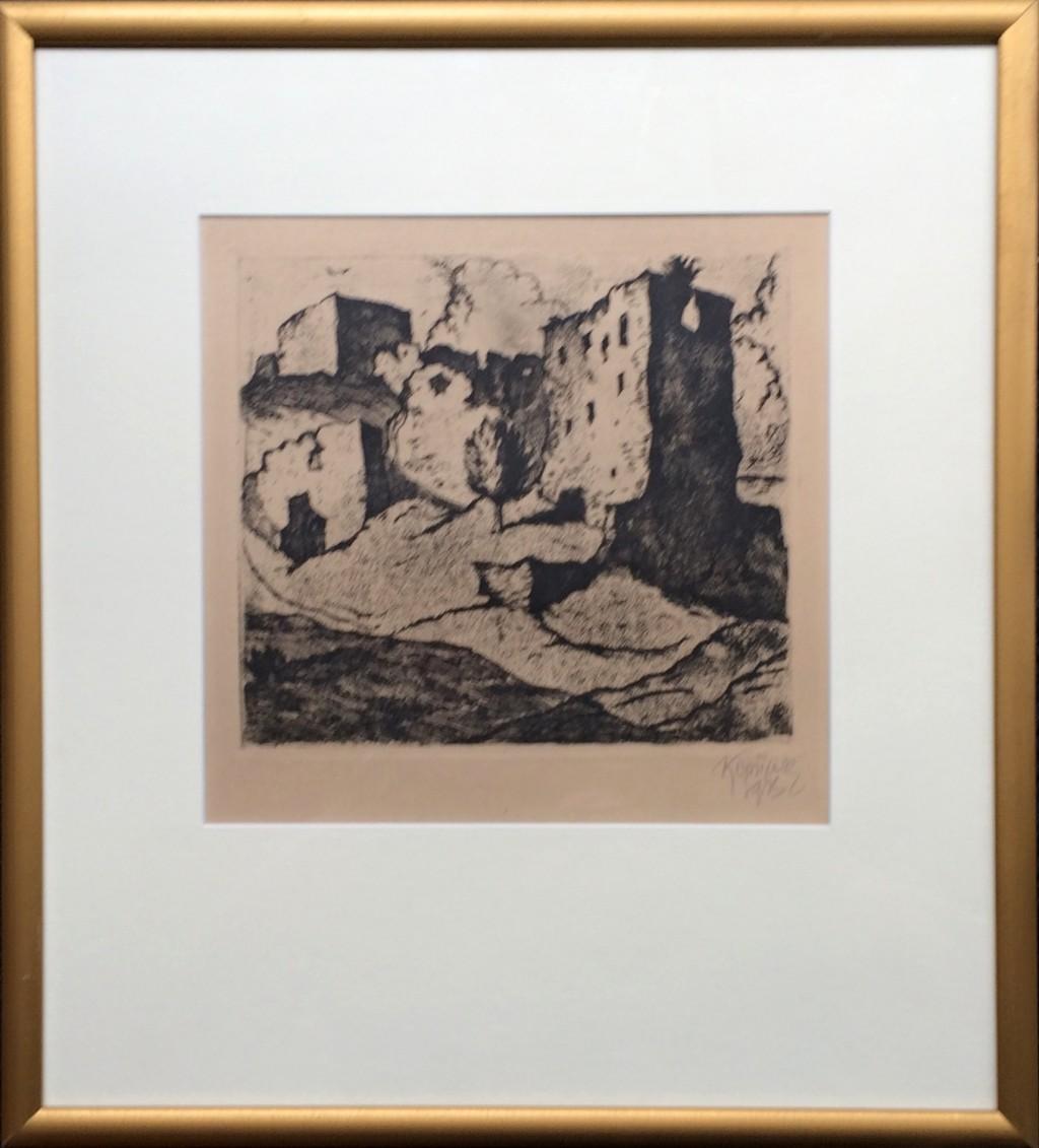 Konůpek Jan (1883 - 1950) : Zřícenina