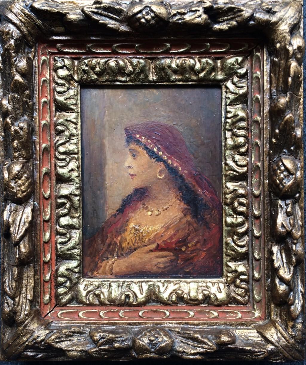 Nechleba Vratislav (1885 - 1965) : Portrét dívky
