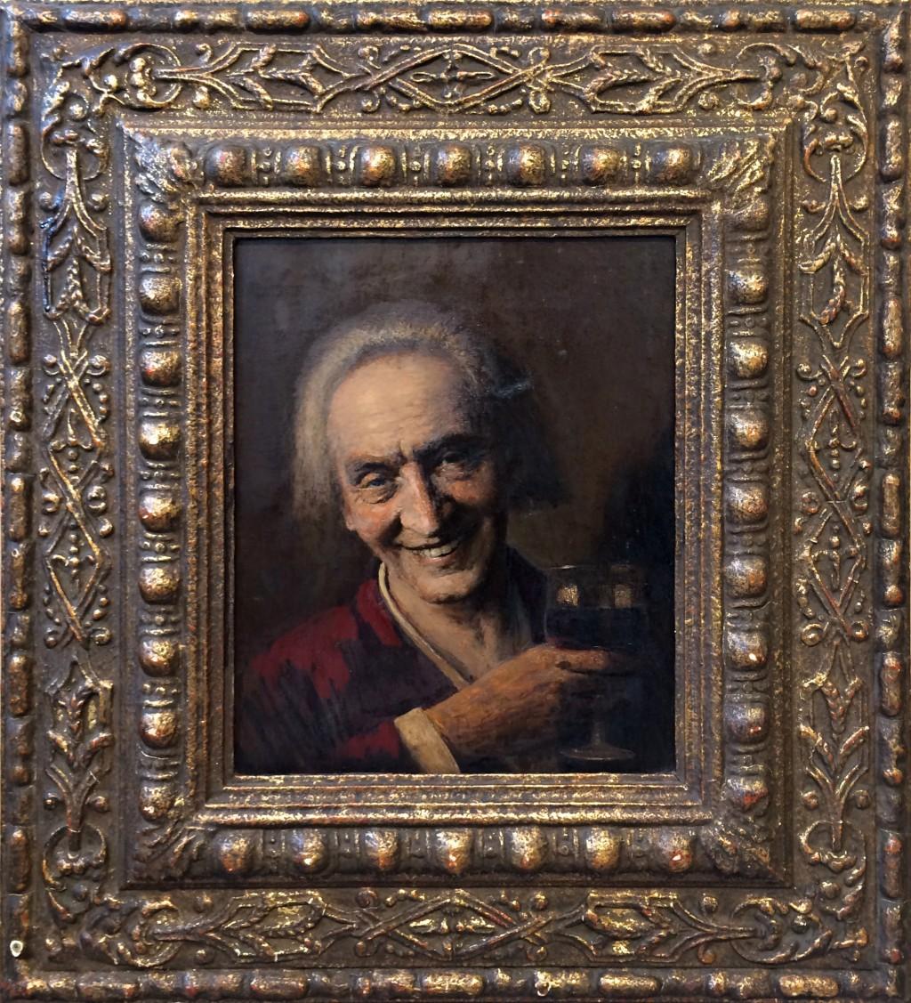 Nechleba Vratislav (1885 - 1965) : Autoportrét