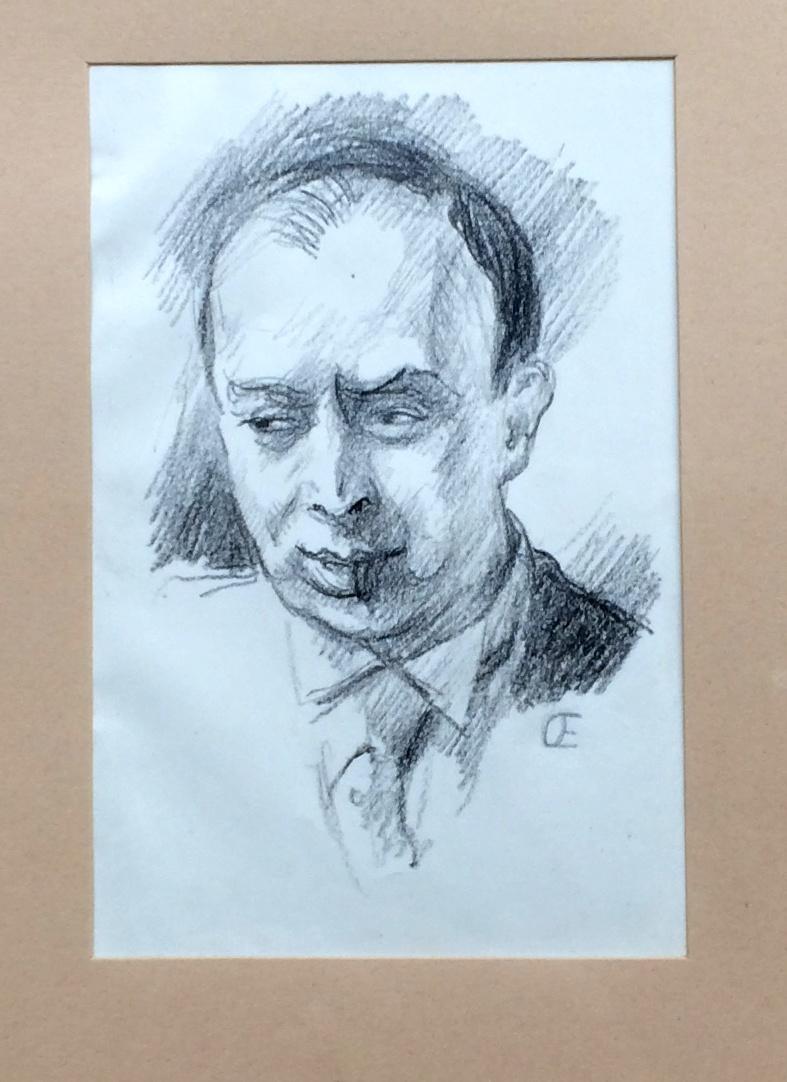 Orlik Emil (1870 - 1932) : Portrét malíře Verise