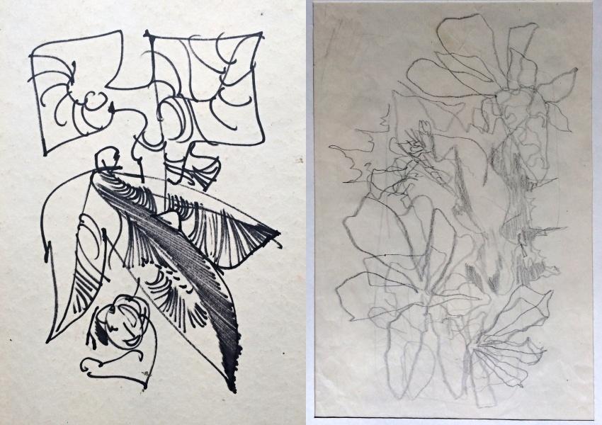 Trnka Jiří (1912 - 1969) : 2 x kresba