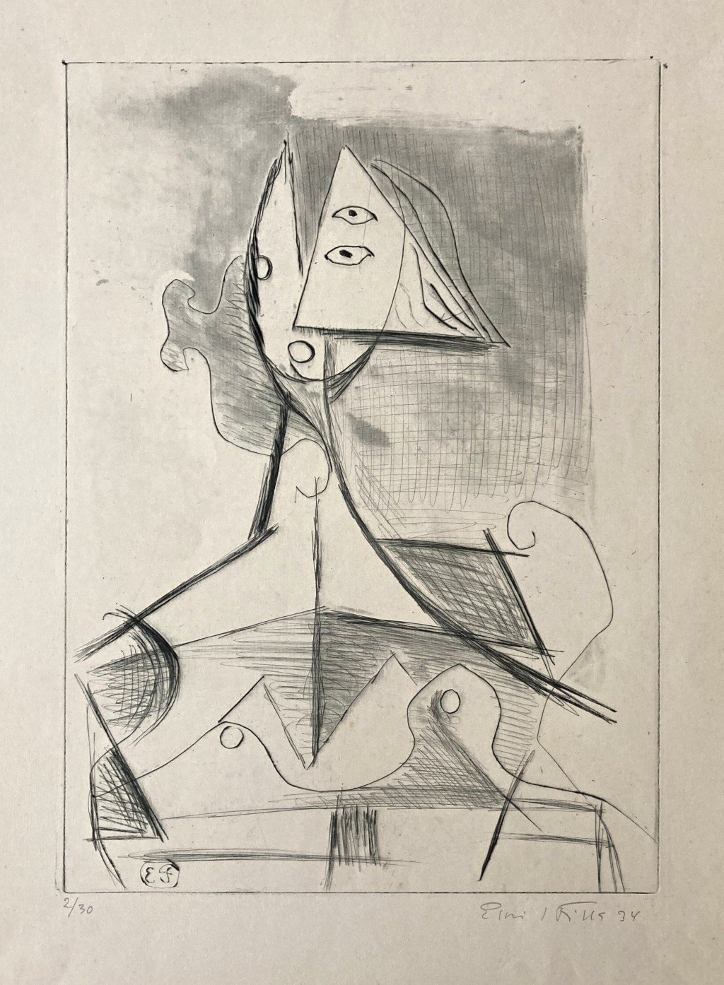 Filla  Emil (1882 - 1953) : Žena