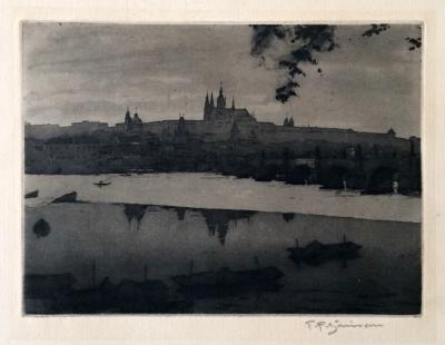 Šimon Tavík František (1877 - 1942) : Nocturno