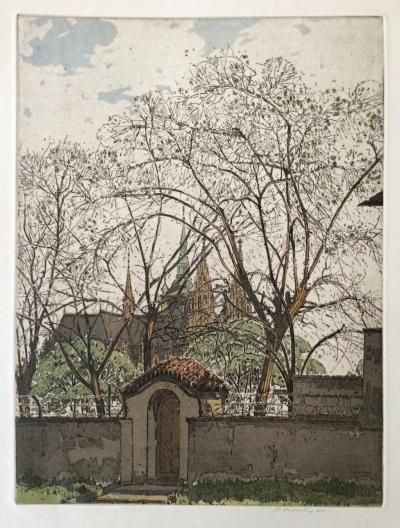 Vondrouš Jan Charles (1884 - 1970) : V Lucemburské zahradě