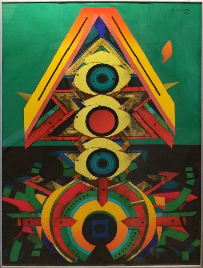 Vysušil Karel (1926 - 2014) : Abstrakce