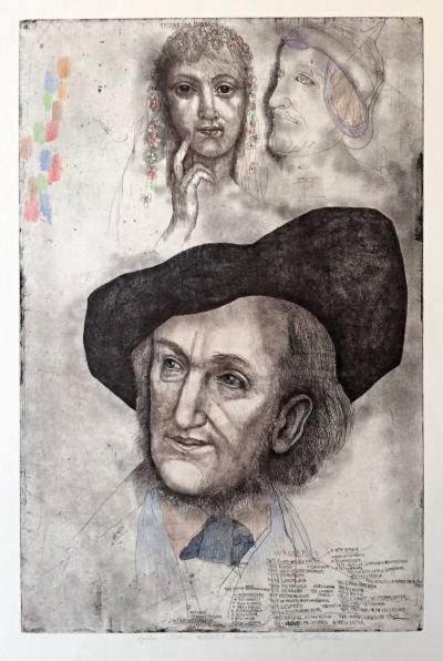 Anderle Jiří (1936) : Z cyklu Musici Wagner