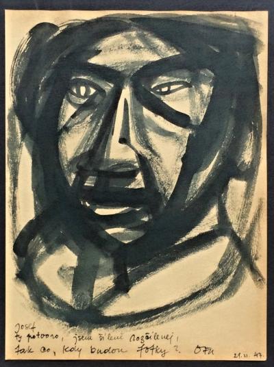 Janeček Ota (1919 - 1996) : Rozhněvaný muž