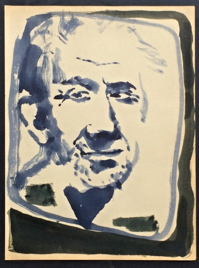 Janeček Ota (1919 - 1996) : Portrét J. Sudka