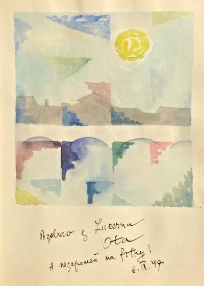 Janeček Ota (1919 - 1996) : Pozdrav z Lucernu