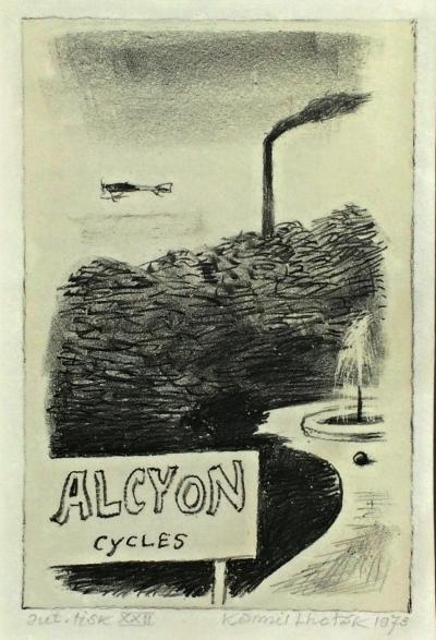 Lhoták Kamil (1912 - 1990) : Alcyon