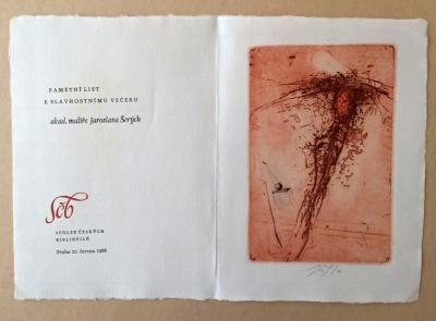 Šerých Jaroslav (1928 - 2014) : Pamětní list