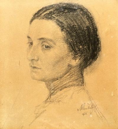 Švabinský Max (1873 - 1962) : Portrét Boženy Němcové
