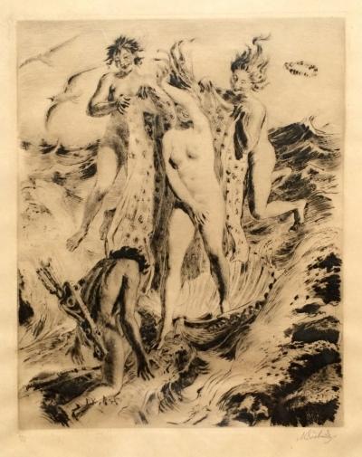 Švabinský Max (1873 - 1962) : Zrození Venuše
