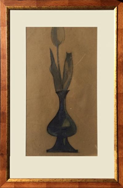 Tichý František (1896 - 1961) : Tulipán ve váze