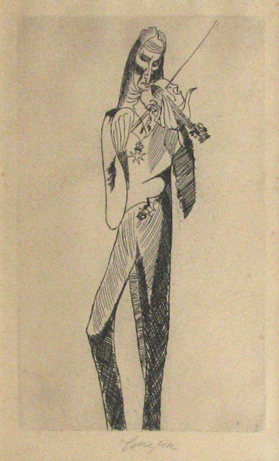 Tichý František (1896 - 1961) : Paganini I.