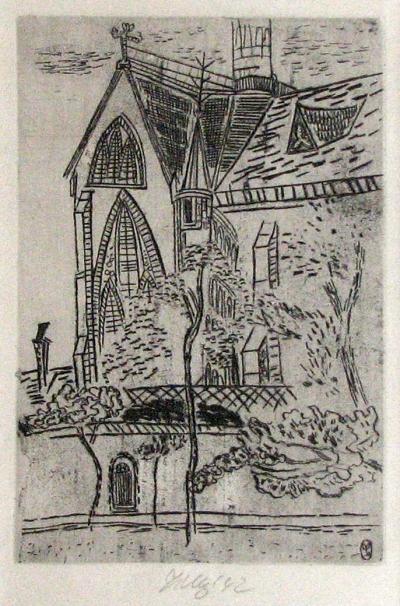 Tichý František (1896 - 1961) : Kostel St. - Germainde la Gare v Paříži