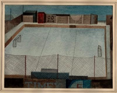 Beneš Vlastimil (1919 - 1981) : Hokejové hřiště