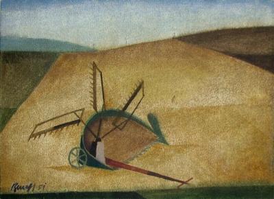 Beneš Vlastimil (1919 - 1981) : Žací stroj