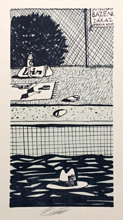 Bím Tomáš (1946) : Bazén
