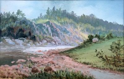 Neznámý autor  : Údolí řeky
