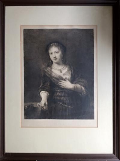 Rembrandt van Rijn (1606 - 1669) : Saskia