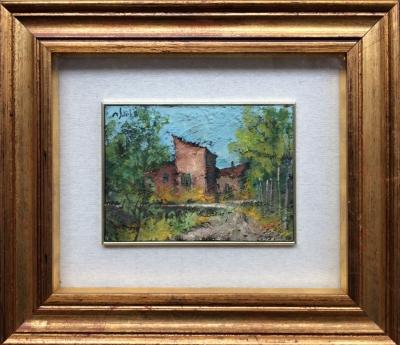 Salvadori Aldo (1905 - 2002) : Dům na předměstí