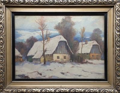 Slabý V.  : V Zimě na vesnici