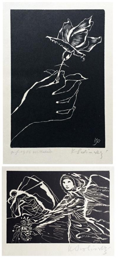Svolinský Karel (1896 - 1986) : 2 grafiky