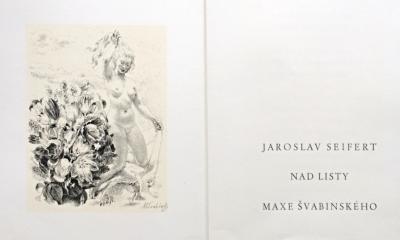 Švabinský Max (1873 - 1962) : Pamětní list spolku Českých bibliofilů