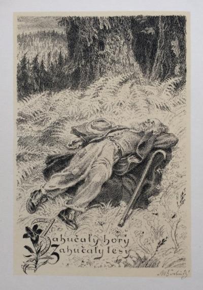 Švabinský Max (1873 - 1962) : Zahučely hory