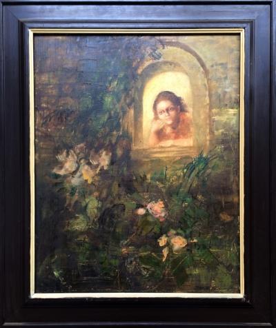 Trnková Klára (1949) : Okno do zahrady
