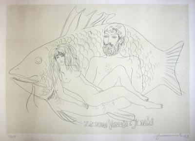 Fremund Richard (1928 - 1969) : Zrození Venuše a Jonáš