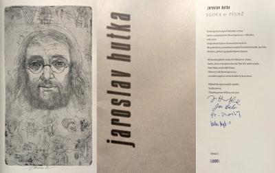 Bibliofilie I.  : Hutka Jaroslav: Slova a písně