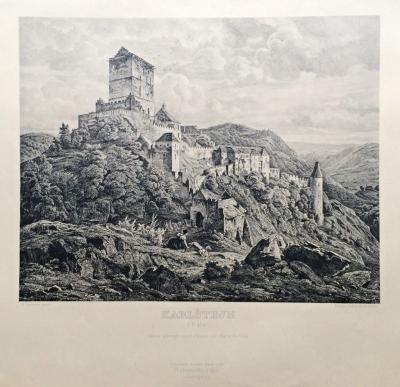 Havránek Bedřich (1821 - 1899) : Karlštejn