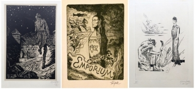 Konůpek Jan (1883 - 1950) : 3 x grafika