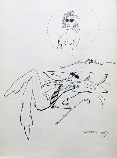 Kristofori Jan (1931 - 2004) : Ilustrace do časopisu