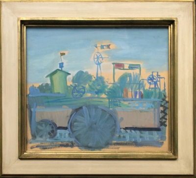 Lhoták Kamil (1912 - 1990) : Zahrada