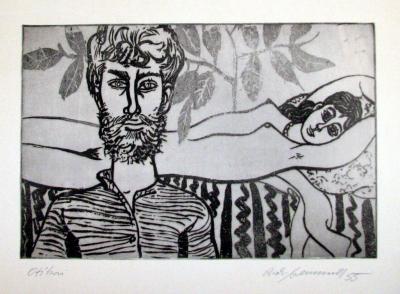 Fremund Richard (1928 - 1969) : Milenci