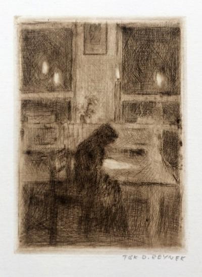 Reynek Bohuslav (1882 - 1971) : Nad dopisem