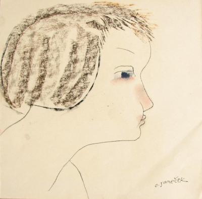 Janeček Ota (1919 - 1996) : Děvčátko