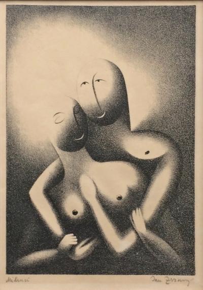 Zrzavý Jan (1890 - 1977) : Milenci