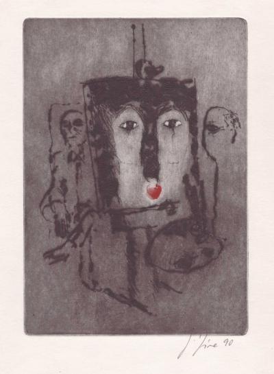 Jíra Josef (1929 - 2005) : V ateliéru