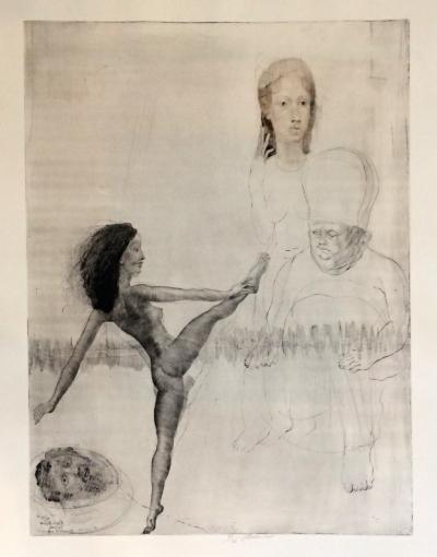 Anderle Jiří (1936) : Salomé (Picassovi)