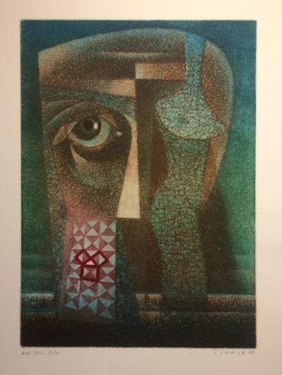 Istler Josef (1919 - 2000) : Hlava - torso