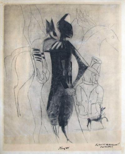 Tichý František (1896 - 1961) : Capriccio II. (II. stav)