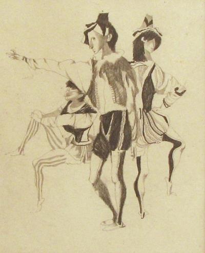 Trnka Jiří (1912 - 1969) : Renesanční herci
