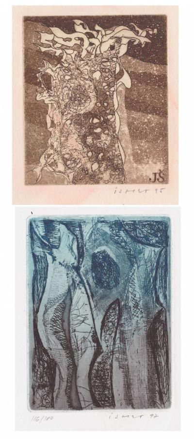 Istler Josef (1919 - 2000) : Konvolut dvou grafik